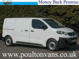 PEUGEOT EXPERT 1000 BLUE PROFESSIONAL EURO 6 115BHP 6 SPEED STD MWB PANEL VAN