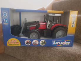 Bruder Toy tractor and loader