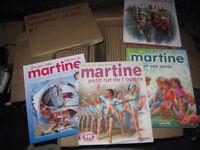 collection de livre martine pour enfants 1972 a 80