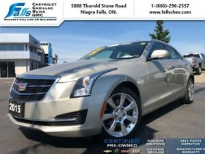 2015 Cadillac ATS Sedan 2.0 Turbo Luxury  NAV,AWD,SUNROOF,LEATHE