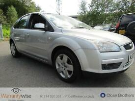 FORD FOCUS STYLE, Silver, Manual, Petrol, 2007