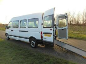 2006 Renault Master LWB 2.5 DCi 9 SEATS + WHEELCHAIR DISABLED ACCESSIBLE MINIBUS