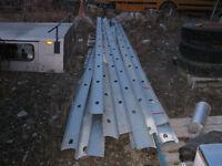 2 x 6 steel studs x 16ft