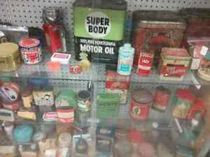 Nostalgia signs, tins license plates plus 600 booths full Peterborough Peterborough Area image 3