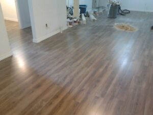Hardwood from 1.50sqf  and laminate 1.20sqf installation Edmonton Edmonton Area image 2