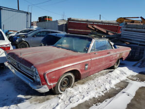 1966 Plymouth Fury 111 Convertible project car was 3500 now 3000