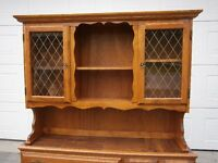 HUTCH - SOLID MAPLE - PRICE REDUCED