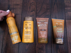 L'OREAL PARIS self tanning lotions (Assorted)