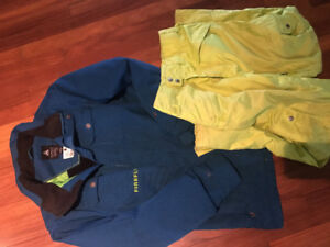Boys(youth) Firefly winter jacket and snow pants size XL