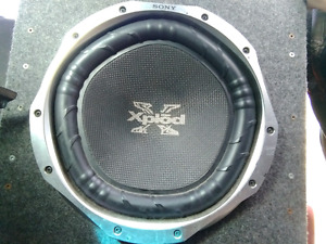 "10"" sub and 350w amp"