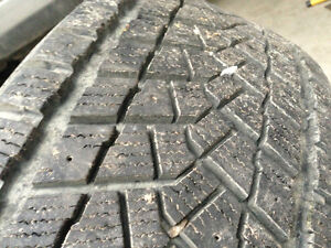 Two - 225/45-17 winter tires