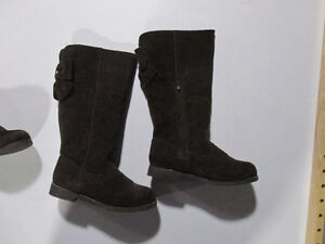 Gymboree Brown Suede Girls Tall Boots -size 2 Belleville Belleville Area image 2