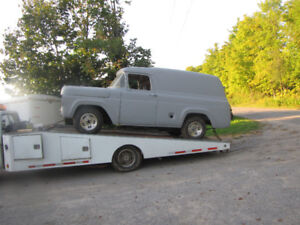 1959 Ford Panel Truck Project