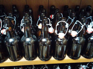 0.5L glass beer bottles