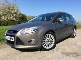 Ford Focus 1.6TDCi Titanium X 2012 Brown/Grey Diesel Manual Estate