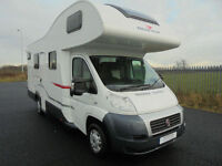 Roller Team Auto Roller 707 6 Berth Bunk Bed Motorhome for sale