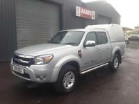 2011 Ford Ranger Thunder 2.5TDCi Double Cab 4x4 Pickup Diesel *79k* Full Leather