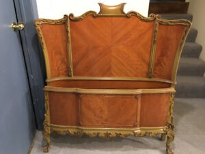 Beautiful antique single bed