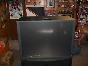 "RCA 53"" colour TV"