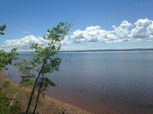 Ocean front overlooking Tatamagouche Bay  in Malagash, NS