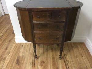 Vintage sewing cabinet - petit meuble pour couture