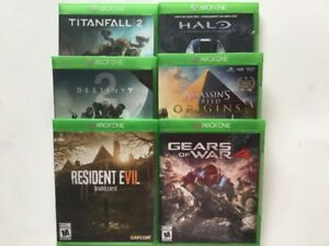 Origins, Gears of War, Destiny 2, Halo, Resident Evil...