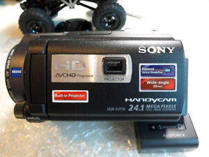 Sony HDRPJ710 High Definition with Built-in Projector Camcorder
