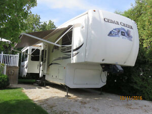 36'RE Cedar Creek 5th Wheel