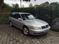 Vauxhall Omega 2 litre petrol. Very low mileage and one owner!