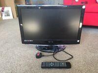 Technika tv built in DVD player.