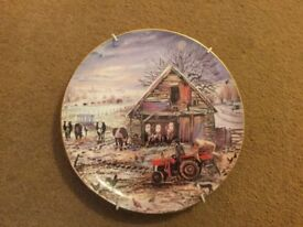 Collectors plate