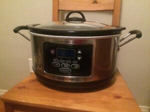 Moving Sale - Hamilton Beach Programmable Slow cooker