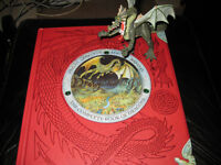 DRAGONOLOGY BOOK WITH DRAGON