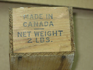 Antique wooden box- Cheese box-Butter Box Stratford Kitchener Area image 2
