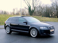 2008 Audi A3 2.0TDI 170PS Sportback Quattro S Line WITH FSH+PANO/ROOF+PDC+