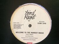 Animal magnet welcome to the monkey house 12 inch single