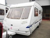 2004 Sterling Vitesse 500/5 5 Berth Caravan HAB Service Included Warranty