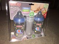 Nuby bottle set (NEW)