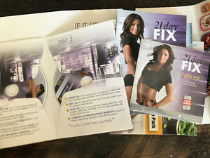 21 day fix DVDs and containers