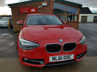 2012 BMW 118 2.0TD d Sport MANUAL DIESEL NEW SERVICE PX WELCOME