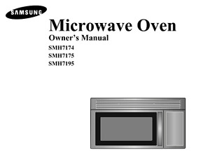 SAMSUNG OVER-THE-RANGE MICROWAVE - New!