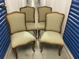 Set of 4 Louis XV-style Chairs