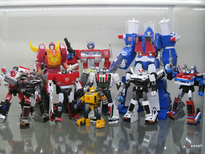 Transformers 3rd Party Masterpiece Figures