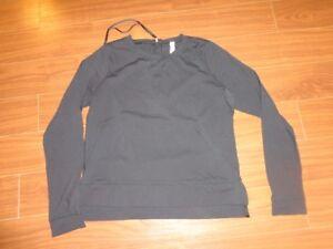 Lululemon cozy brushed shirt / long sleeved top (size 8)