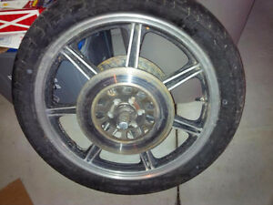 yahama xs850 front wheel and discs