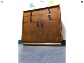 Original Vintage Mid Century Utility CC41 Drawers Linen Cabinet Cupboard
