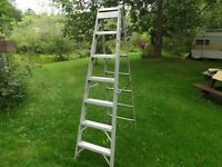 6 FT ALUMINUM LADDER $55.00