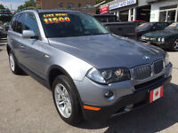2007 BMW X3 3.0i AWD SUV...MINT PERFECT COND. City of Toronto Toronto (GTA) Preview