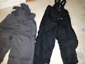 size 3 toddler boys/girls snow pants