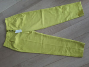 Yellow French Connection pants! Size 4